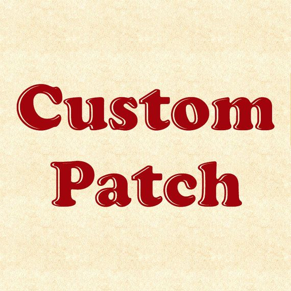 Custom Patch Design  Made from your image by StoriedThreads