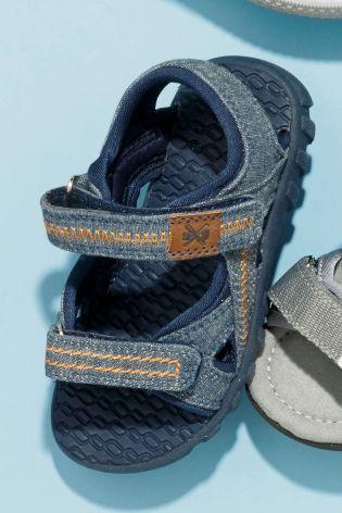 Buy Blue Trekker Sandals (Younger Boys) online today at Next: Israel