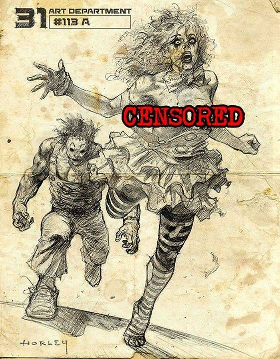 Rob Zombie's '31' Movie Second Concept Art. #robzombie #31 #illustration