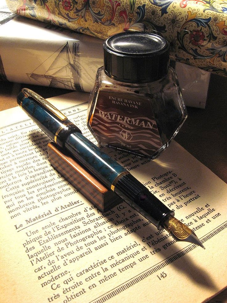 Waterman Phileas - my daily workhorse pen. I have two of these in F point, one in green and the other violet. Smooth writing and never fussy.
