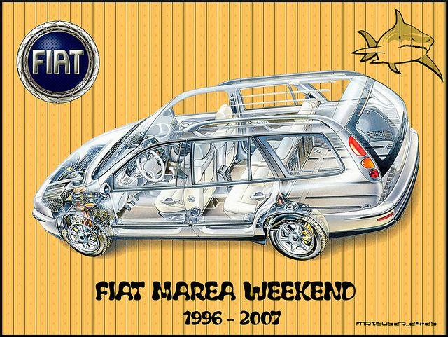 Fiat Marea Weekend #fiat #marea