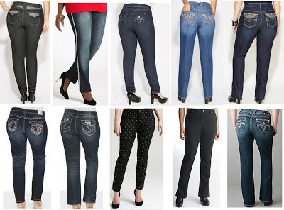 plus size jeans with bling - Jean Yu Beauty