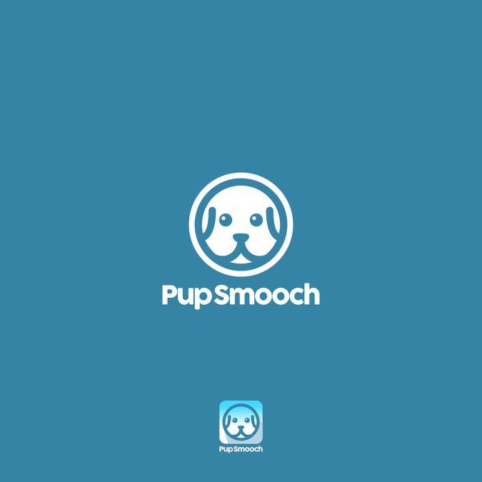 Design a simple dog face for an app by Angga Panji