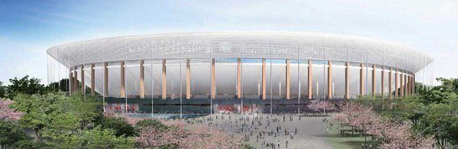 Gallery - Japan Sport Council Unveils Two Shortlisted Designs For New Tokyo National Stadium - 6
