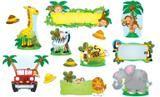 "Checkout the ""Jungle Safari Bulletin Board Set"" product"