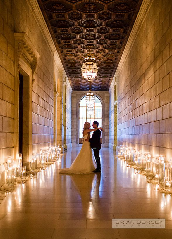 It doesn't get more quintessentially New York then the New York Public Library. For one special couple, the Colin Cowie Celebrations team took over the iconic space and transformed it into a wedding wonderland.