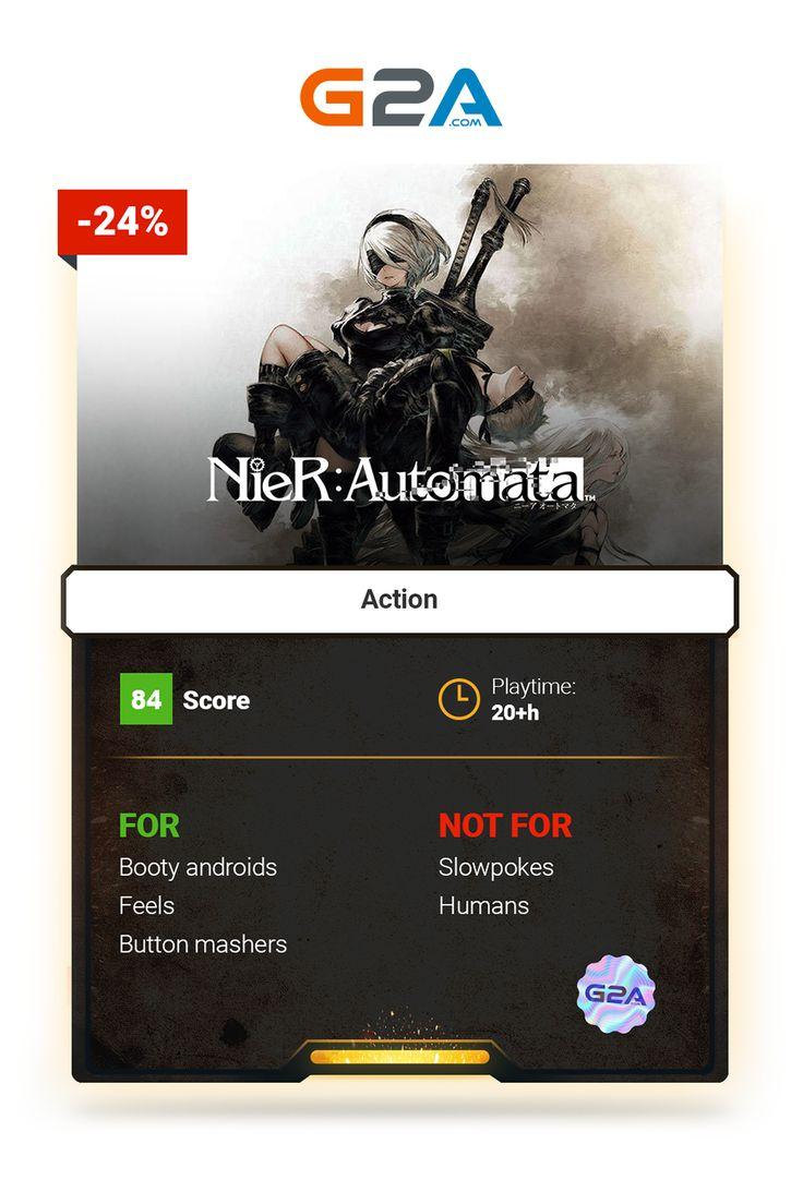 NieR: Automata #action #gaming #nierautomata #nier