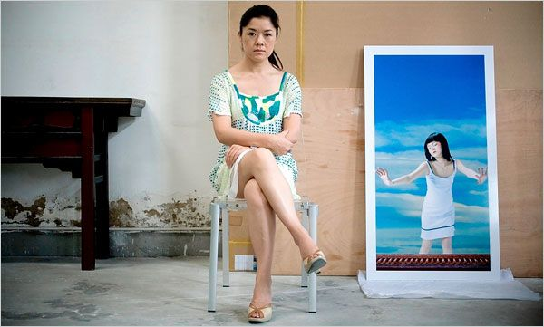 China's Female Artists Quietly Emerge - The New York Times