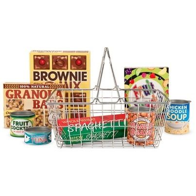 Melissa & Doug Let\'s Play House! Grocery Basket with Play Food $19.99