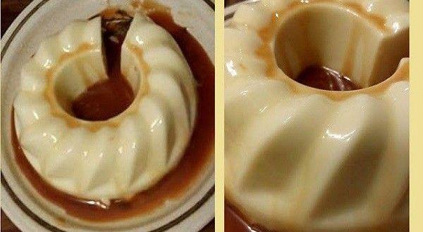 Η γλυκιά «κόλαση», ελαφρύ, βελούδινο, με γεύση καραμέλας !!! Πάρτε τη συνταγή και στην κουζίνα: Υλικά: 400 γραμμάρια κρέμα γάλακτος