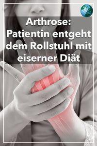#arthrose #krankheit #gelenke #gesundheit #rollstuhl #patientin #diät #essen #ernährung #umstellung #fitundgesund