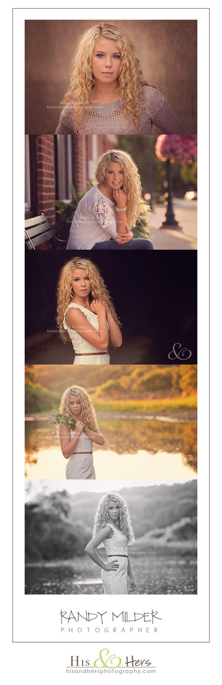#Iowa Senior Portrait Photographer, Randy Milder | His & Hers #classof2014