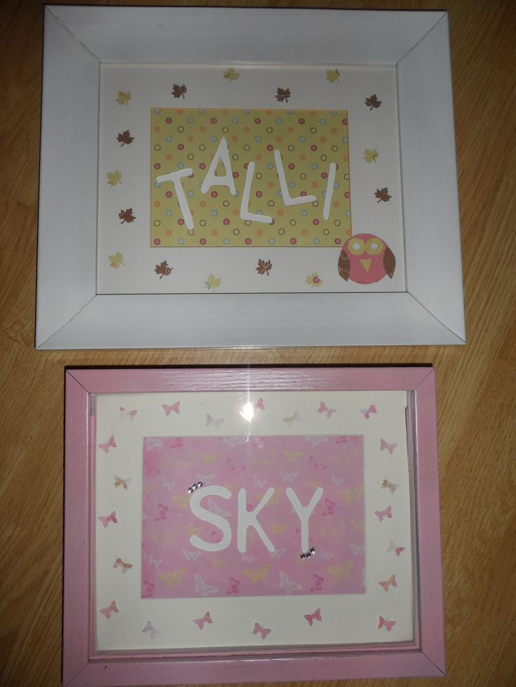 Christmas presents for my neices to match their bedroom decor 2014