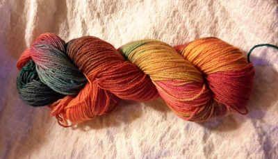Farbkreisel Edelsockenwolle Avarna