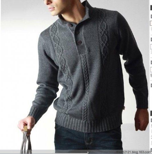 Мужской пуловер спицами . Обсуждение на LiveInternet - Российский Сервис Онлайн-Дневников