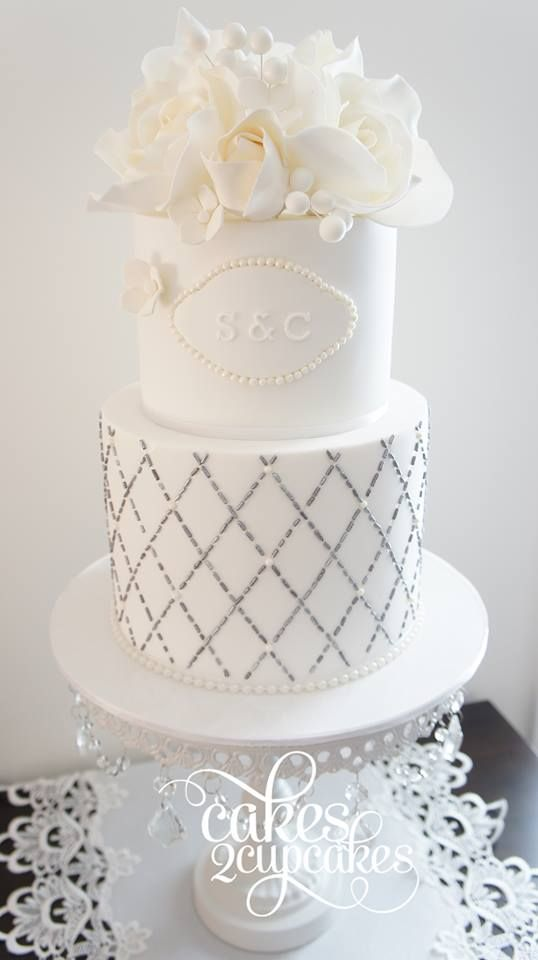 Gorgeous Wedding Cake Inspiration from Cakes 2 Cupcakes