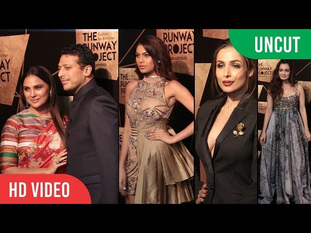 UNCUT - The Runway Project | Pizza Express | Malaika Arora Lara Dutta Dia Mirza | lodynt.com |لودي نت فيديو شير