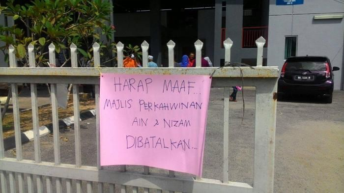 Pernikahan Batal Malaysia - Mempelai Gagal Kawin Gara-gara Katering