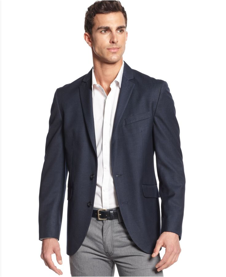 navy sport coat - Google Search | Clothes/Style | Mens ...