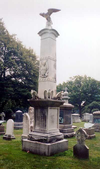 Major General John Buford, Jr, USA, Cavalry. West Point Military Academy Cemetery.