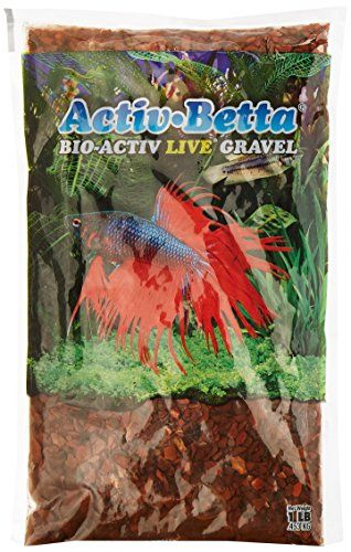 Activ Betta Aquarium Sand, 1-Pound, Red River * Click image to review more details.