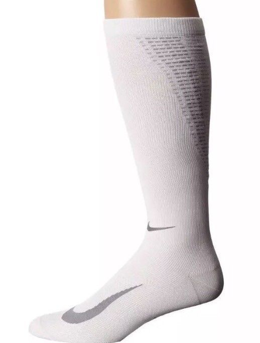 55c77a083 NIKE ELITE LIGHTWEIGHT COMPRESSION OVER THE CALF SOCKS SX5190-100 SIZE  6-7.5 #fashion #clothing #shoes #accessories #mensclothing #socks (ebay  link)