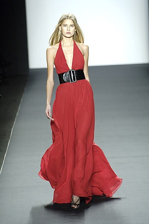 Bill Blass runway Fall 2006 - favorite item of clothing in my closet; need an opportunity to wear it again soon