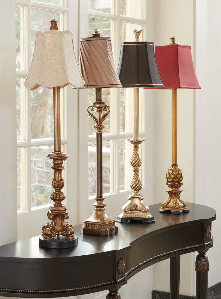 Mix & Match Buffet Lamps.