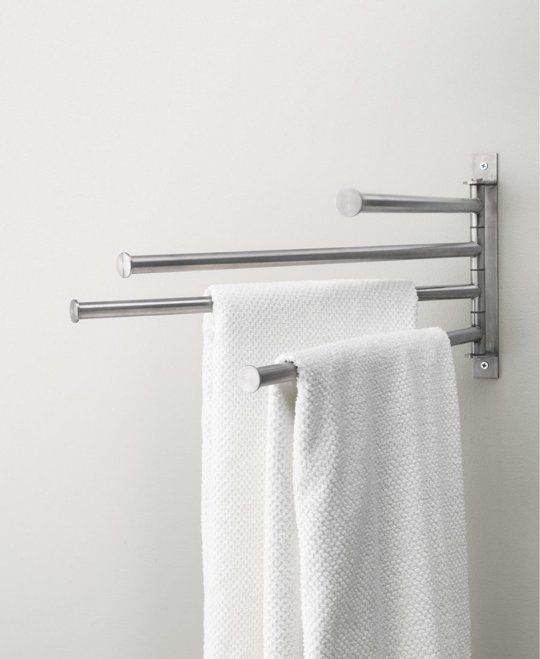 The compact, versatile Grundtal towel holder would be useful in many situations, $14.99 from IKEA.
