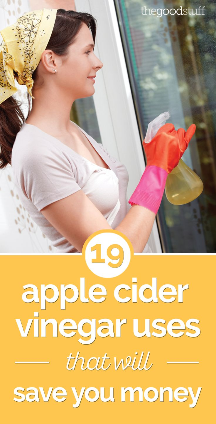 19 Apple Cider Vinegar Uses That Will Save You Money | thegoodstuff