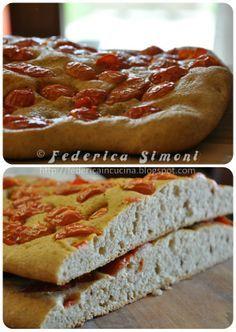 La cucina di Federica: Focaccia con farina di grano tenero integrale