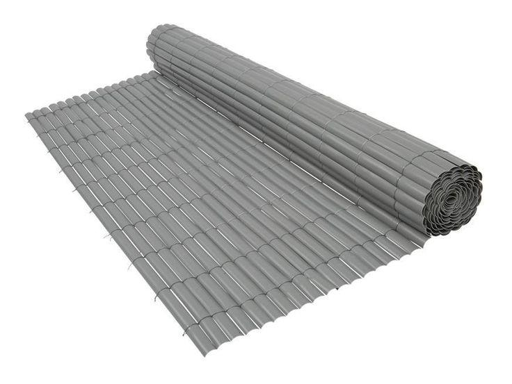Canisse PVC gris 900 g/m² 1 x 3 mètres Gris - 103482 - Jardin piscine