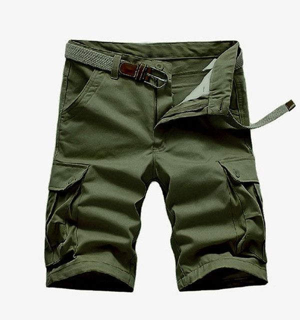 2017 New Arrival High Quality Men Camouflage Cargo Bermuda Casual Shorts Multi Pockets Tactical Military Shorts For Men 28-39