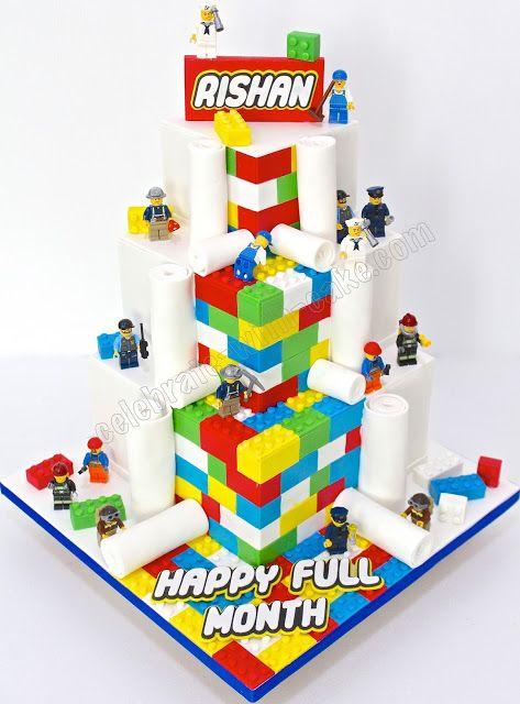 Celebrate with Cake!: Lego