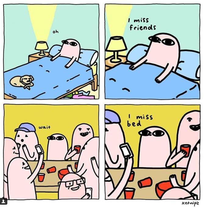 Best Comics Images On Pinterest - Illustrator puts funny twist on seriously relatable everyday situations