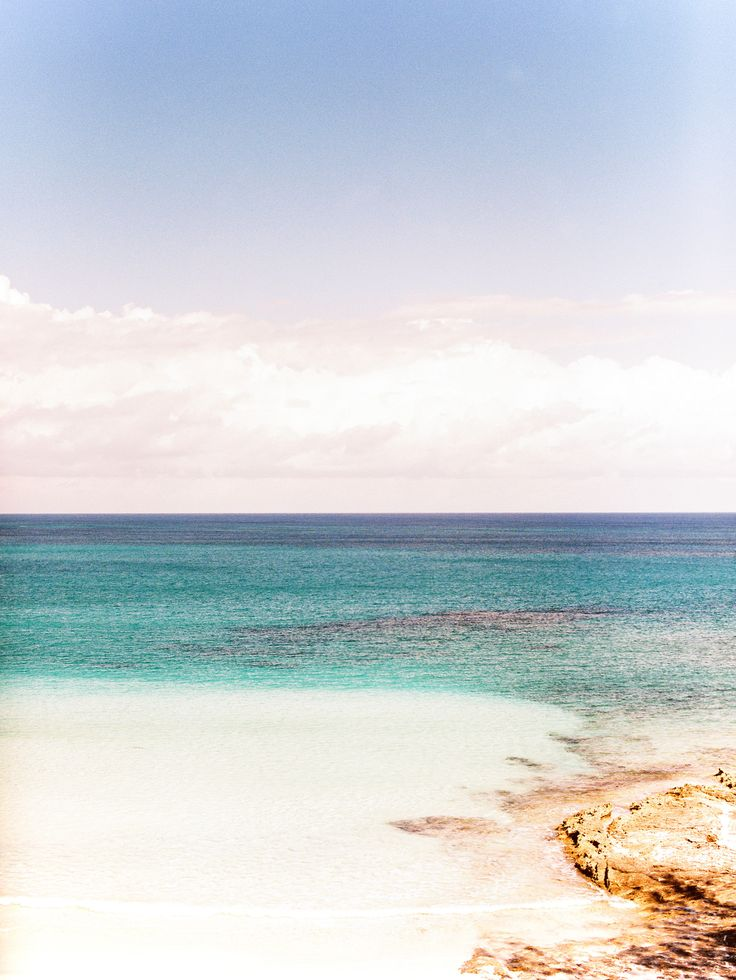 Intimate Bahamas Destination Wedding -- Now THIS is a great backdrop! See the beach wedding  here: http://www.StyleMePretty.com/2014/03/21/intimate-bahamas-destination-wedding/ Photography: JeremiahAndRachel.com on #SMP