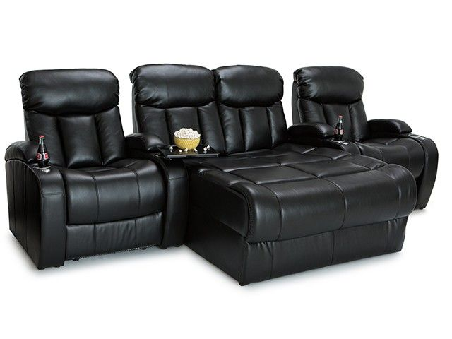 Seatcraft Grenada Theater Chairs - Leather Gel | 4seating