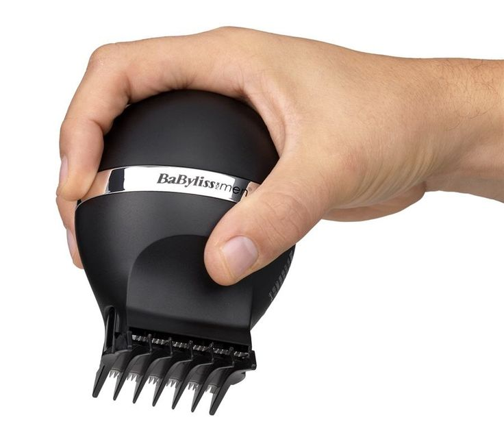 BaByliss Smooth Glide Clipper For Men-7575U BABYLISS FOR MEN SMOOTH GLIDE CLIPPER 7575U  Avoid the awkward barber's chair silence with the BaByliss for Men Smooth Glide Hair Clipper; perfect for a do-it-yourself haircut for short and even results with grades 1-4. A dual blade cutting system allows for multi-directional cutting over the head for easy self-clipping.  DUAL BLADE CUTTING SYSTEM  Cutting your own hair has never been easier than with the BaByliss for Men Smooth Glide self-clipper.