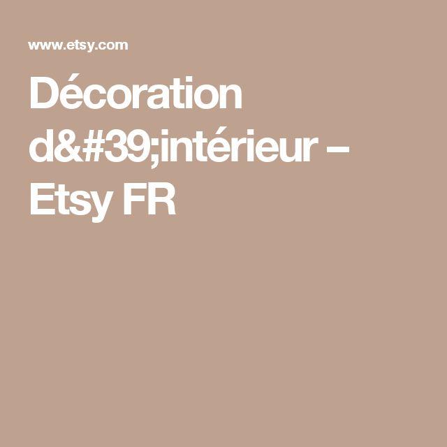 Décoration d'intérieur – Etsy FR