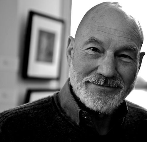 Patrick Stewart - great actor - saw him in London in a play and he was brilliant.