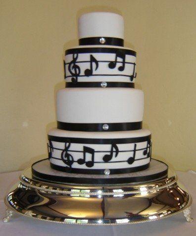 Pintrest  Tier Music Cakes