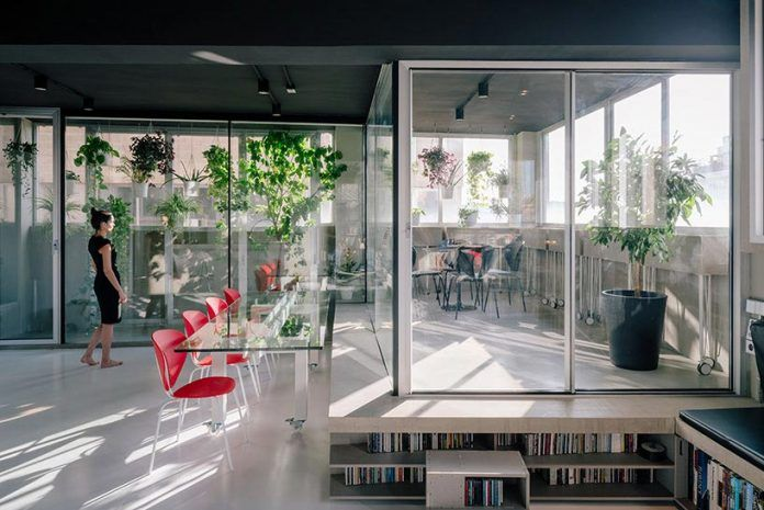 Transformation of an industrial setting into a flexible live or work space - CAANdesign   Architecture and home design blog