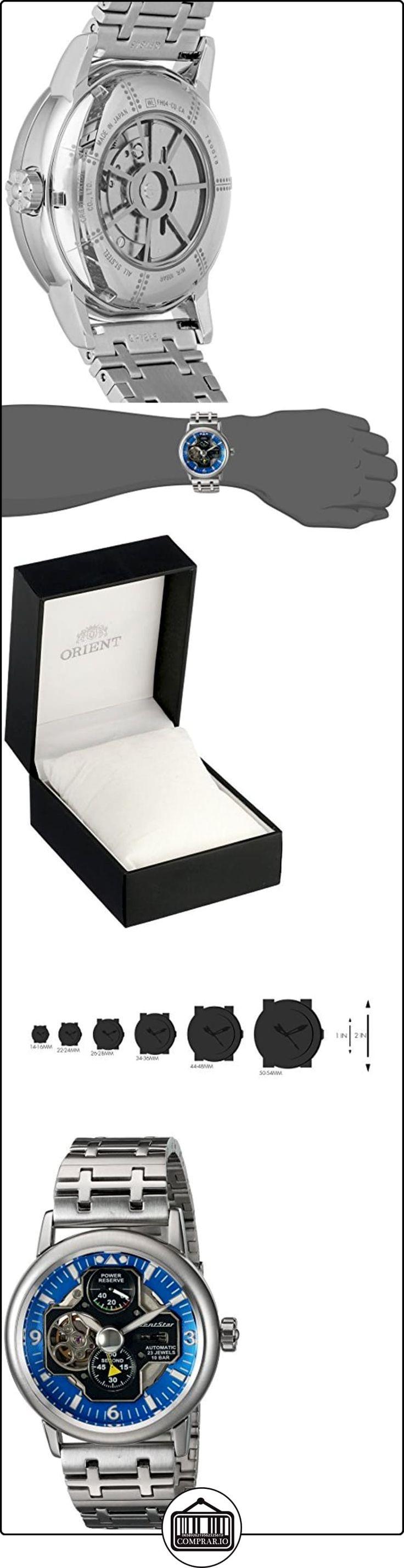Orient YFH04001D - Reloj para hombres color plateado de  ✿ Relojes para hombre - (Lujo) ✿