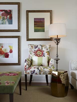 sarah richardson living room richardson 101 vibrant living room floral 14176
