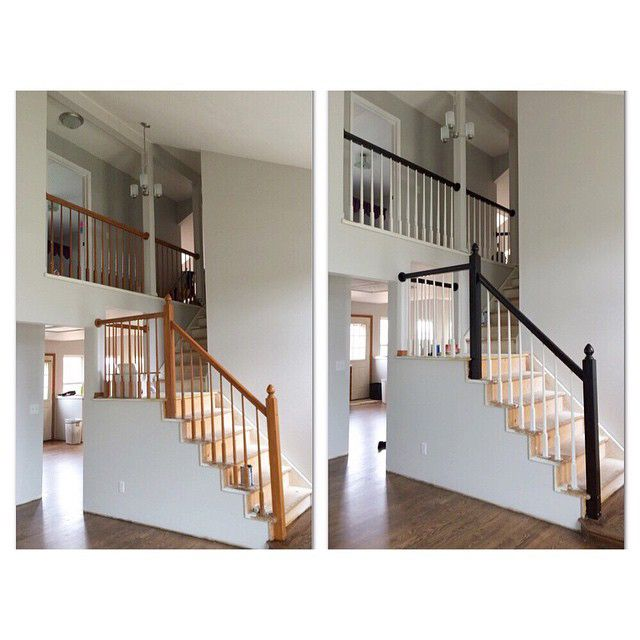 12 Best General Finish Java Gel Stair And Rail Redo Images