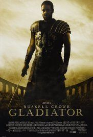 When a Roman general is betrayed and his family murdered by an emperor's corrupt son, he comes to Rome as a gladiator to seek revenge.  [It's Gladiator.]