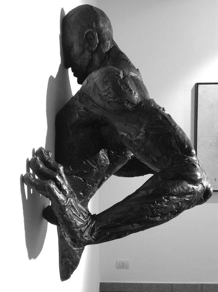 Matteo Pugliese, New Ad Astra, 2014, bronzo, 100 x 95 x 40 cm #contemporary #art #sculpture