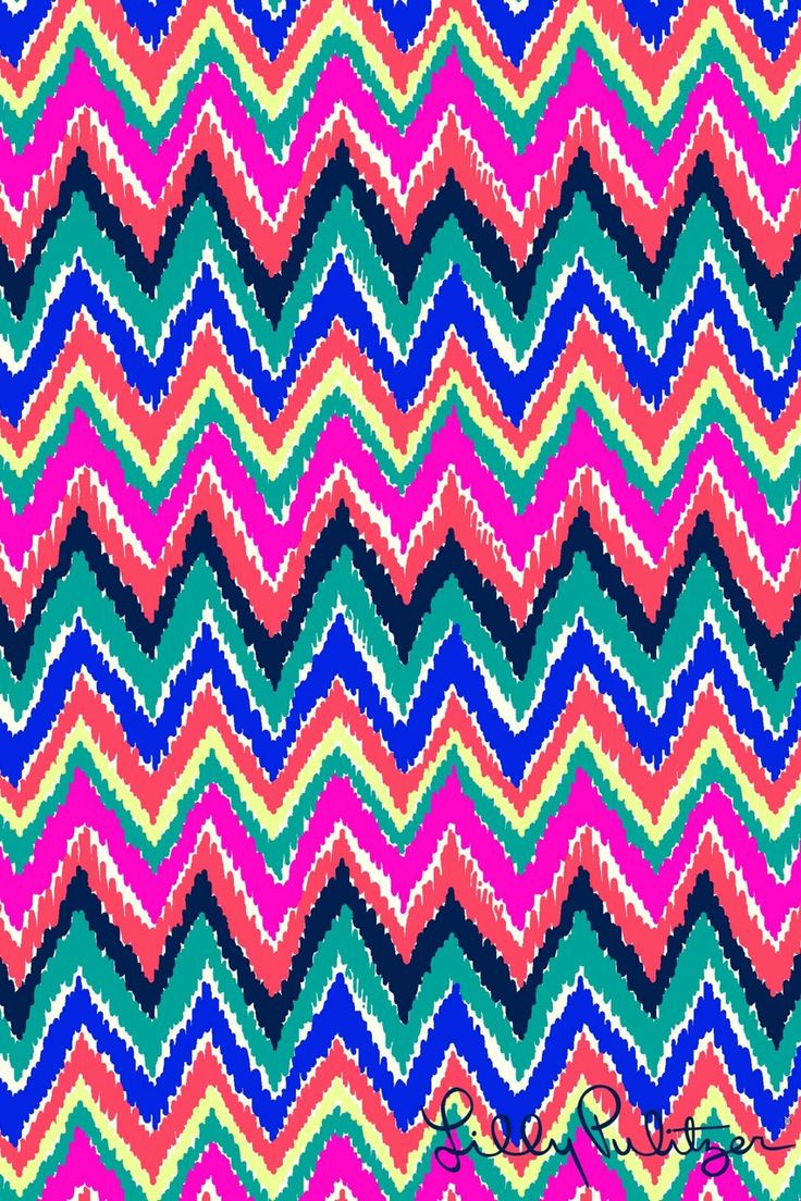 Iphone wallpapers tumblr chevron - Lilly Pulitzer Phone Background Hearts A Flutter
