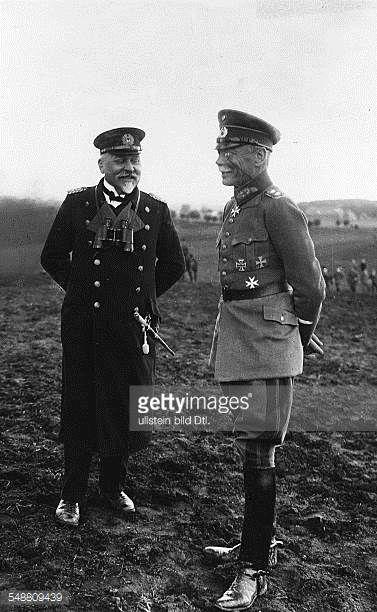 Seeckt Hans von *22041866 Offizier D Generaloberst 19201926 Chef der Heeresleitung mit Admiral Hans Paul