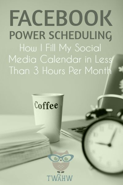 Great tips for scheduling Facebook Page updates in less time.